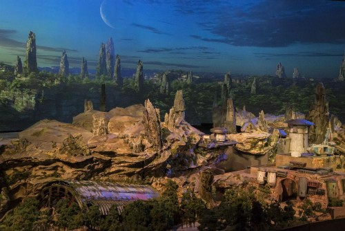 Disney Just Revealed A New Full-Scale Model of Star Wars Land at D23