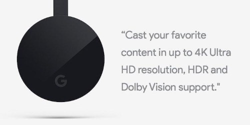 Google Revolutionizes Chromecast With 4K And HDR Support
