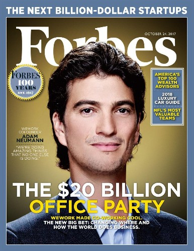 WeWork's $20 Billion Office Party: The Crazy Bet That Could Change How The World Does Business