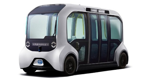 Toyota Announces Disappointing Robo-Shuttle Service For 2020 Olympics