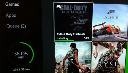On Xbox One And PS4, Hard Drive Space Is Already Shrinking Fast