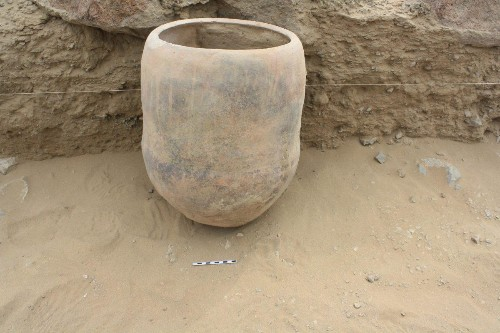 Archaeologist Finds Pot Full Of Llama Face Stew Under A House In Ancient Peru