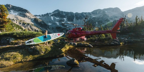 Heli-Paddling Is The Coolest and Newest Extreme Sport You've Never Heard Of