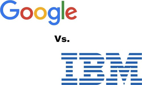 The Growing Rivalry Between Google And IBM