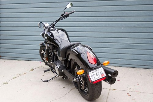 2016 Victory Vegas 8-Ball Test Ride And Review: Mean, 'Murdered-Out' Motorcycle