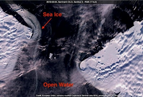 Where Is The Ice That Should Be In The Bering Strait Right Now?