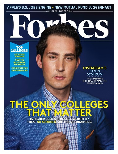 Instagram CEO Kevin Systrom Joins Billionaire Ranks As Facebook Stock Soars