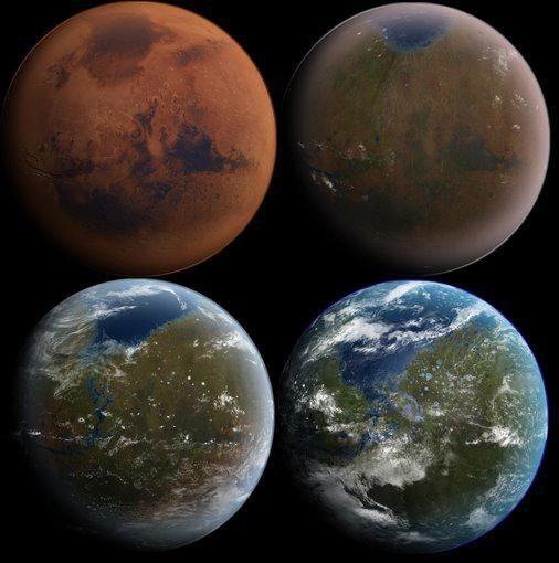 NASA Believes It Knows How To Make Mars Green Again