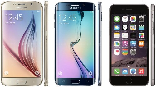 iPhone 6 Vs Galaxy S6 And Galaxy S6 Edge: Samsung Gatecrashes Apple
