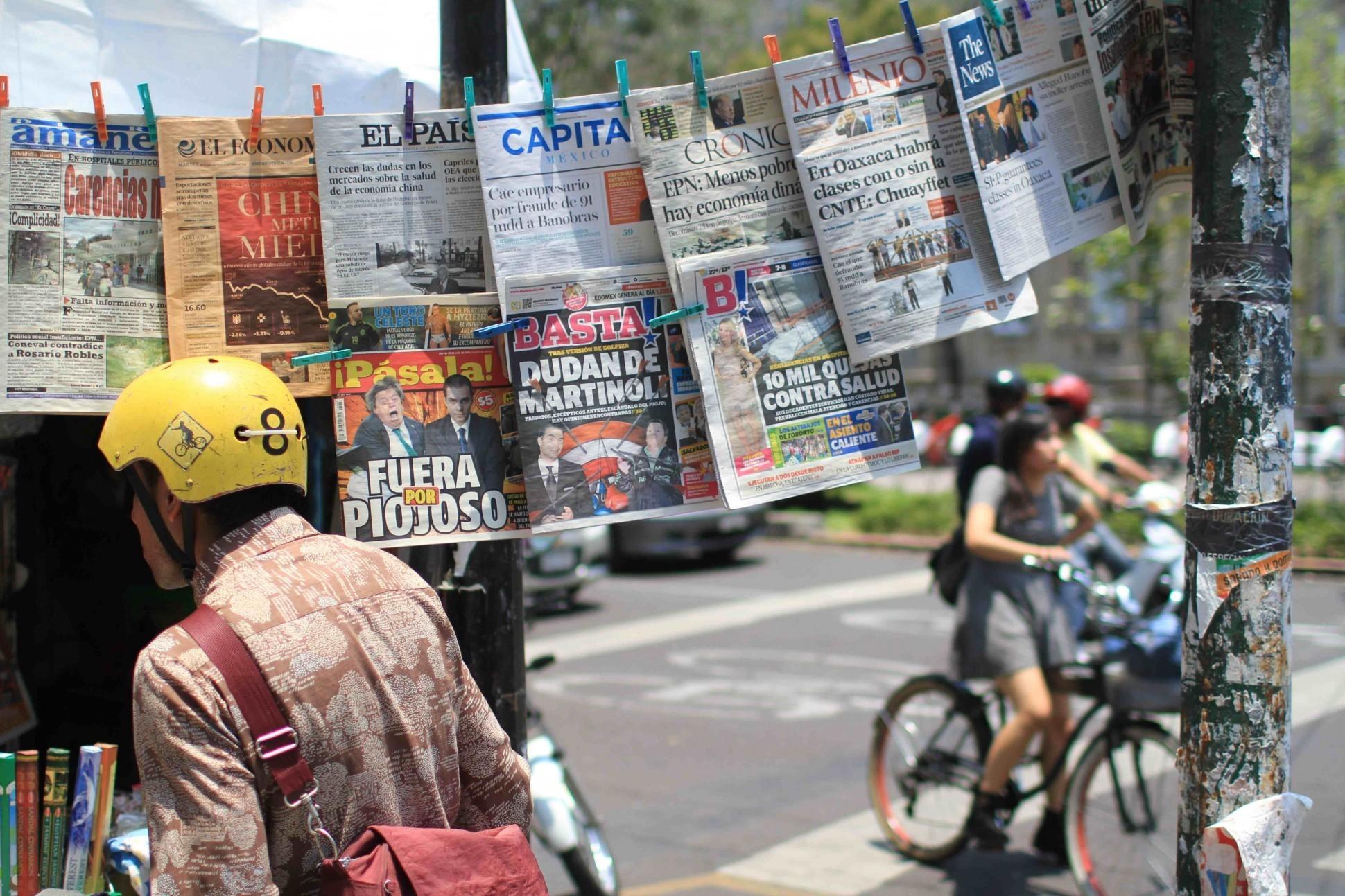 Global Newsroom: The Americas - Magazine cover