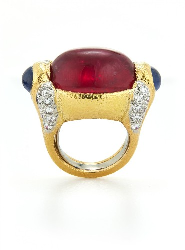 The Best Kinds Of Red, White And Blue: Rubies, Diamonds And Sapphires