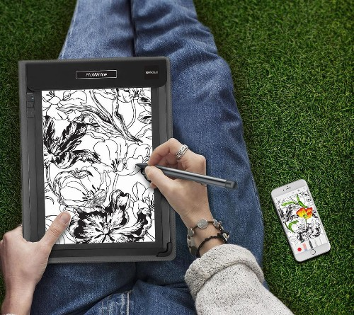 Instantly Capture Digital Versions Of Your Notes and Sketches