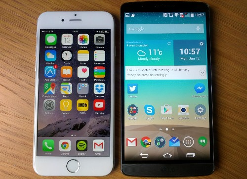 iPhone 6 Vs LG G3 Review: Heavyweights Trade Blows