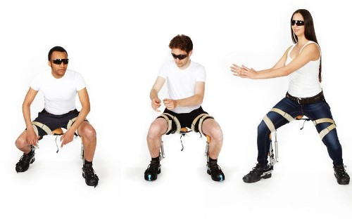 The Chairless Chair Lets You Sit Anywhere