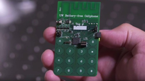 A Cell Phone That Doesn't Need Batteries Could Be In Your Future