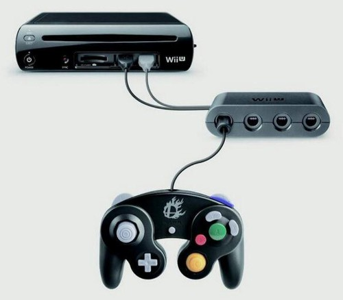 Nintendo Unveils Gamecube Controller Adapter for Wii U Super Smash Bros.
