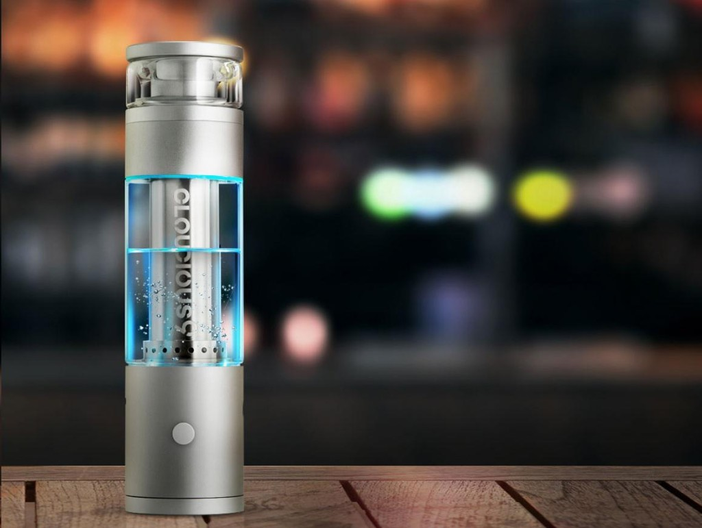 The Hydrology9 Water Filtration Vaporizer Brings Bongs Into The Age Of Vapes