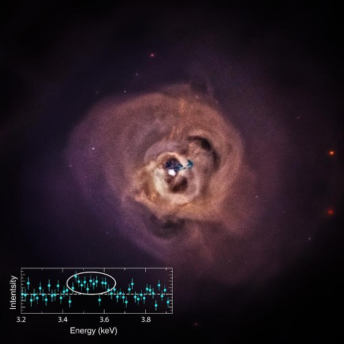 Astronomers Detect An X-ray Signal That Hints At Dark Matter