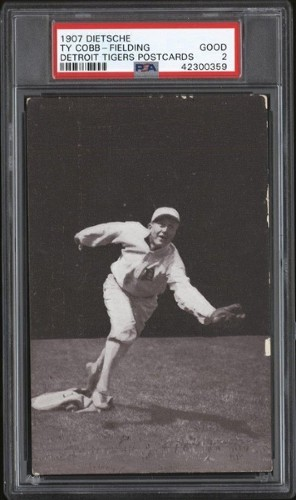 Ty Cobb's 'True' Rookie Card More Than Triples In Price To $18,000 In Just Two Years