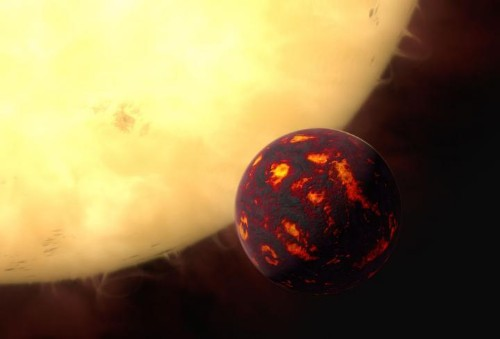 Super-Earth's Atmosphere Detected For The First Time - And It's Dry, Hot And Poisonous