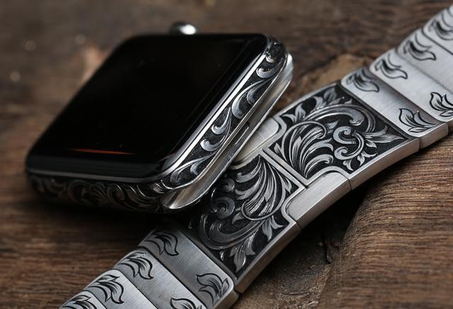 The Hand-Engraved In America Apple Watch By Made Worn