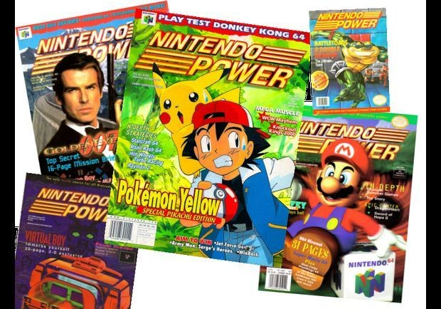 24 Classic Nintendo Power Covers