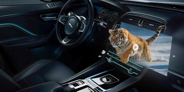 To Prepare For An Autonomous Future Jaguar Land Rover Brings 3D Augmented Reality Into The Cabin