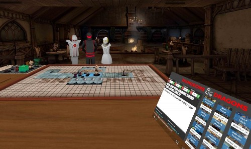 Dungeons & Dragons Debuts In Virtual Reality Via AltspaceVR
