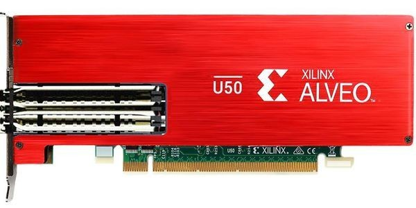 Xilinx Debuts Alveo U50 Accelerator To Boost Data Center Compute, Network, And Storage Workloads