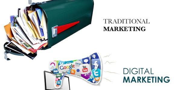 When Traditional Marketing Meets Digital Marketing