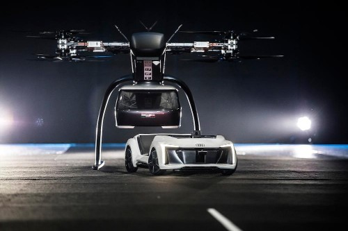 Audi, Airbus And Italdesign Present A Flying Taxi Concept