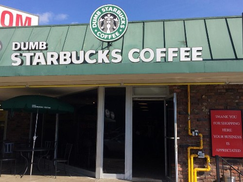 'Dumb Starbucks' In Los Angeles Tests Parody Laws As Coffee Lovers Laugh