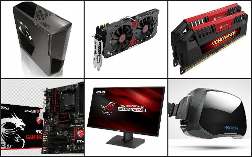 Build 6 Different Oculus Rift-Ready Gaming PCs To Fit Any Budget (Includes Windows, Monitor)