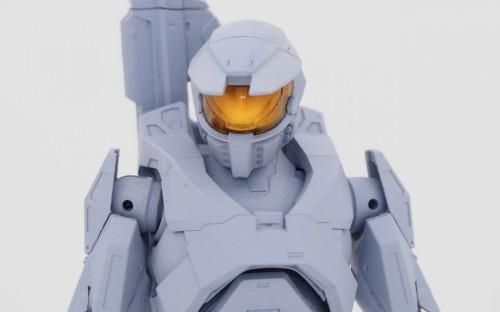 The Mecha Designer For The Original 'Steel Battalion' Has Designed A New 'Master Chief' Figure