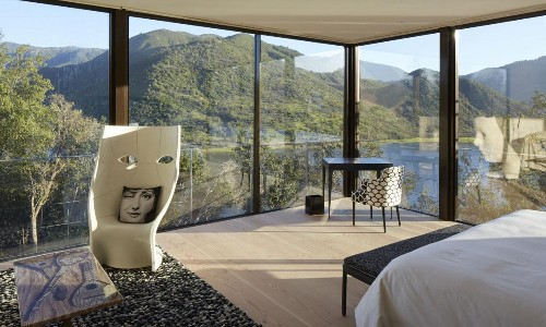 Splendor in the Glass: The New Viña Vik Winery and Hotel in Chile