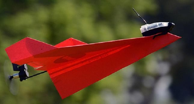 FAA Approves Commercial Use Of Drone Paper Airplane. Yes. Really.
