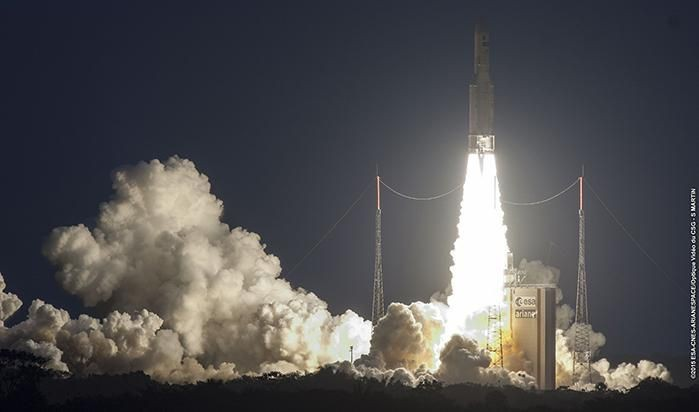 Around The Universe: Ariane 5 Launch, New Horizons Reaches Pluto, And Jupiter Has A Twin