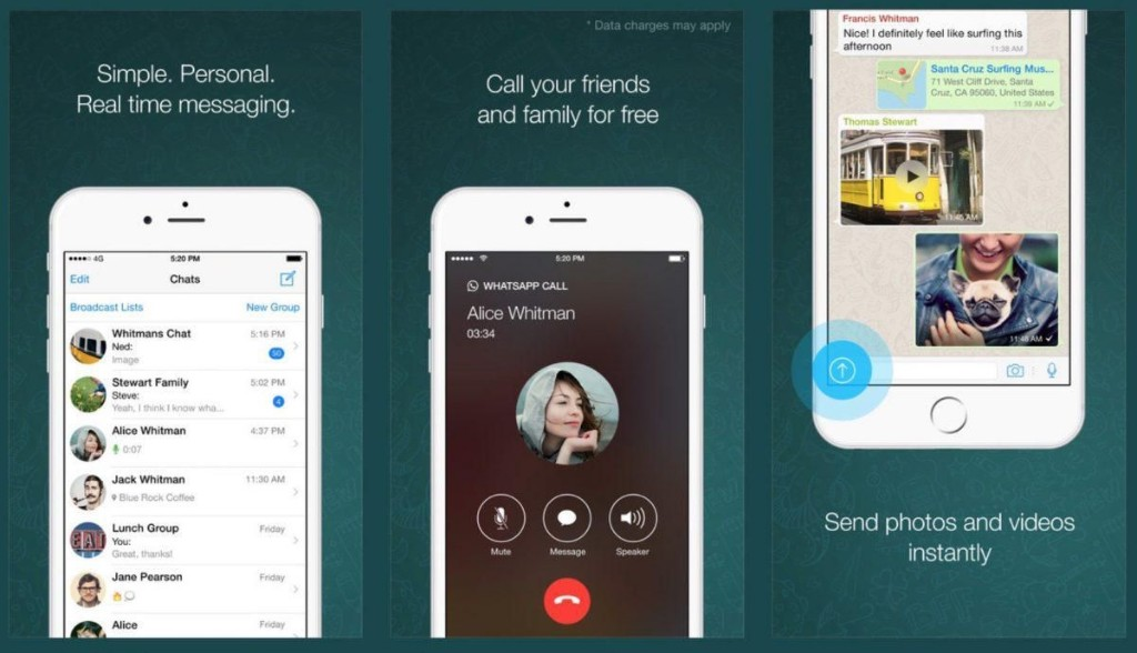 WhatsApp Is Now Rolling Out Video Calling For iPhone, Android And Windows Phone