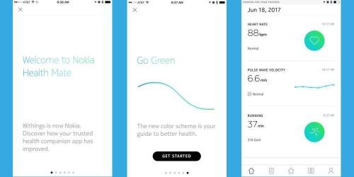 New Nokia Health Mate App Brings Updated Design, Wellness Programs