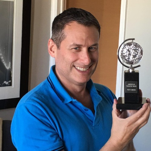 The Parallel Careers of a Tony-Award-Winning Producer