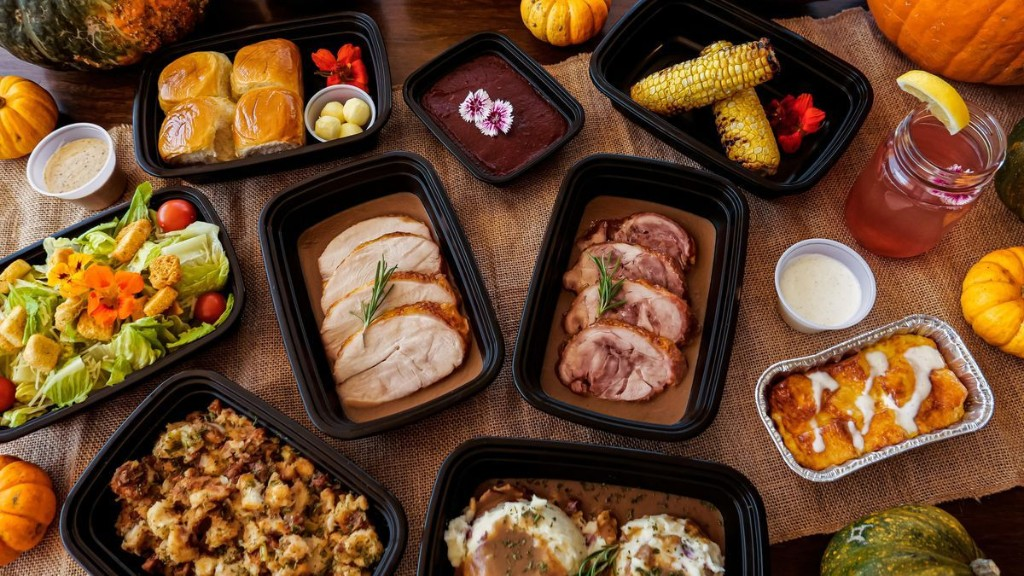 Get Thanksgiving Dinner To-Go From These Hotels Across The Country