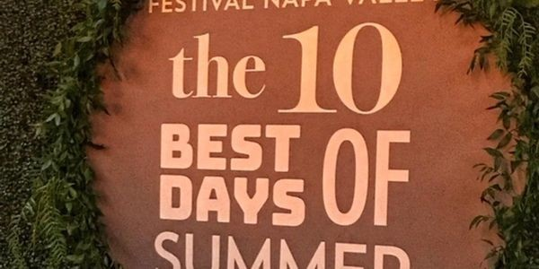 Top 10 Reasons Attending Festival Napa Valley Should Be On Your Immediate List Of Things To Do