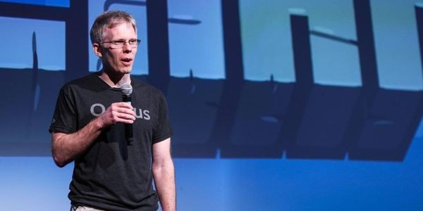 Oculus CTO John Carmack Begrudgingly Accepts Lifetime Achievement Award At This Year's VR Awards