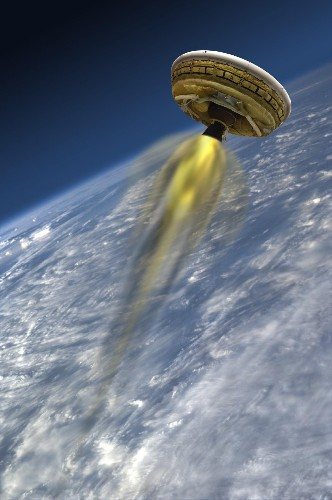 Flying Saucer Grounded Again: Bad Weather Delays Test Flight Once More