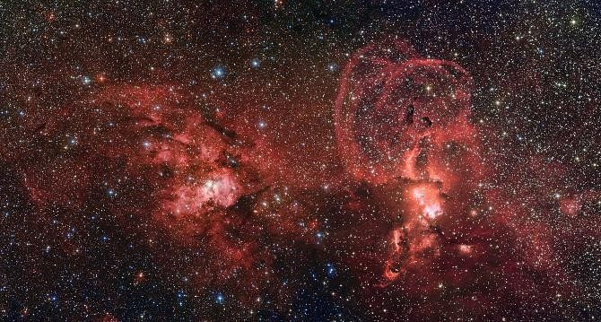 Bright Young Stars Are Made In Red-Hot Stellar Clusters