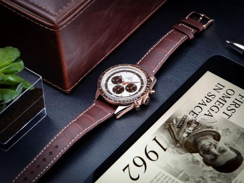 Omega Recreates Its First Watch in Space