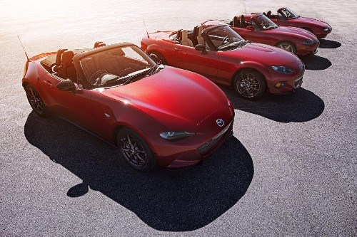 Three Reasons Why The Mazda Miata Is In A Class By Itself
