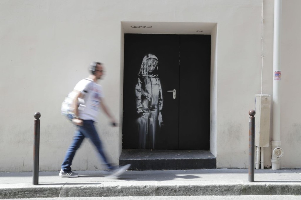 Banksy Mural Stolen From Paris's Bataclan Has Been Found In Italy