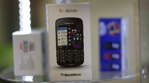 BlackBerry Goes Green Thanks To Smaller Than Anticipated Loss