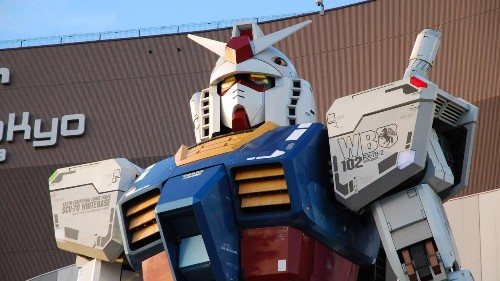 The Full Size Gundam Has Lost None Of Its Magic